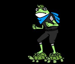 Ninja Boy Geko-hara sticker #7323647