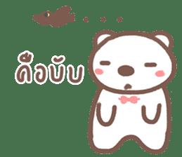 HearMhee lovely bear sticker #7324037