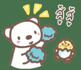 HearMhee lovely bear sticker #7324061
