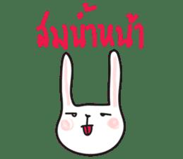 Thai a rabbit sticker #7330445