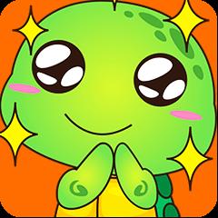 Pura, the funny turtle, version 7 !