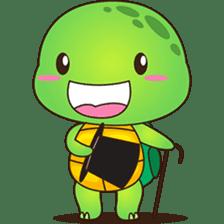 Pura, the funny turtle, version 7 ! sticker #7330710