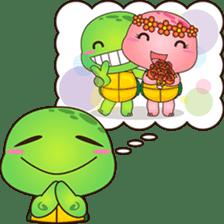 Pura, the funny turtle, version 7 ! sticker #7330711