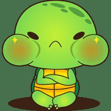 Pura, the funny turtle, version 7 ! sticker #7330713