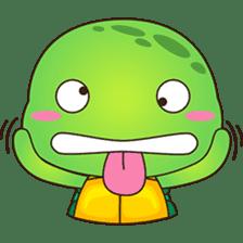 Pura, the funny turtle, version 7 ! sticker #7330715