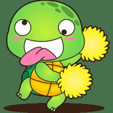 Pura, the funny turtle, version 7 ! sticker #7330717