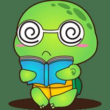 Pura, the funny turtle, version 7 ! sticker #7330720
