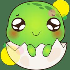 Pura, the funny turtle, version 7 ! sticker #7330722