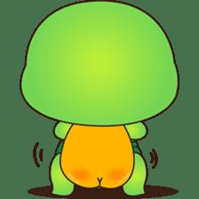 Pura, the funny turtle, version 7 ! sticker #7330724