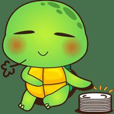 Pura, the funny turtle, version 7 ! sticker #7330725