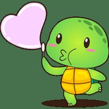 Pura, the funny turtle, version 7 ! sticker #7330729