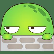 Pura, the funny turtle, version 7 ! sticker #7330731