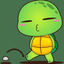 Pura, the funny turtle, version 7 ! sticker #7330734