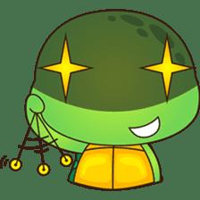 Pura, the funny turtle, version 7 ! sticker #7330735