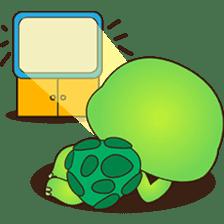 Pura, the funny turtle, version 7 ! sticker #7330736