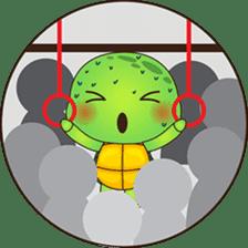 Pura, the funny turtle, version 7 ! sticker #7330737