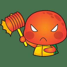 Pura, the funny turtle, version 7 ! sticker #7330747