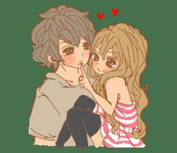 Girls Couple in Love 2 sticker #7333165