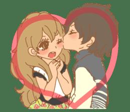 Girls Couple in Love 2 sticker #7333166