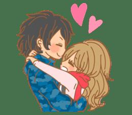 Girls Couple in Love 2 sticker #7333168