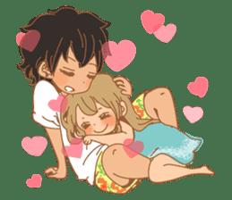 Girls Couple in Love 2 sticker #7333170