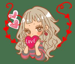 Girls Couple in Love 2 sticker #7333176