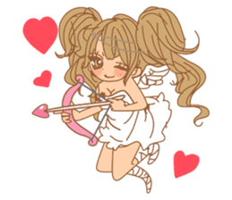 Girls Couple in Love 2 sticker #7333185