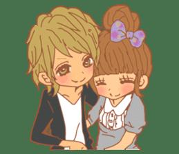 Girls Couple in Love 2 sticker #7333192