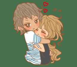 Girls Couple in Love 2 sticker #7333194