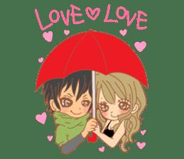 Girls Couple in Love 2 sticker #7333196