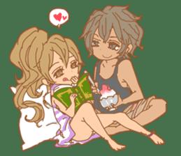 Girls Couple in Love 2 sticker #7333201