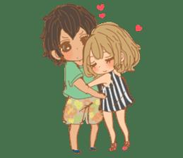 Girls Couple in Love 2 sticker #7333203