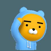 สติ๊กเกอร์ไลน์ Kakao Friends Real Animated Stickers