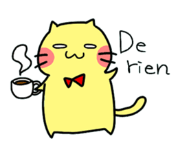 Cats in France! sticker #7343935