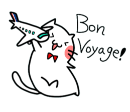 Cats in France! sticker #7343960