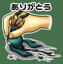 gijin kanojo sticker #7347804