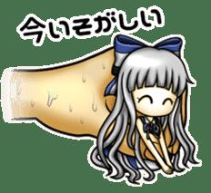 gijin kanojo sticker #7347805
