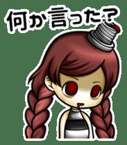 gijin kanojo sticker #7347806