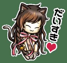 gijin kanojo sticker #7347810