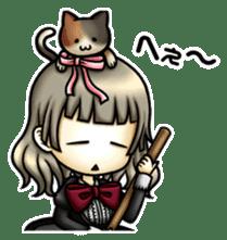 gijin kanojo sticker #7347812
