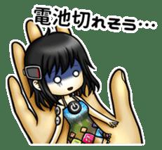 gijin kanojo sticker #7347815