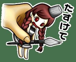 gijin kanojo sticker #7347820