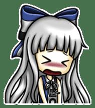 gijin kanojo sticker #7347826