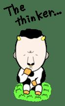 Mr.moosan3 sticker #7354175