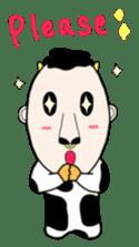 Mr.moosan3 sticker #7354196