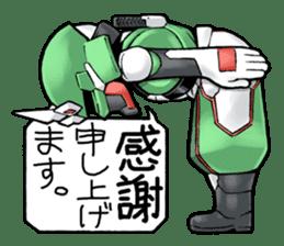 TAKASHIMA RIDER sticker #7354926