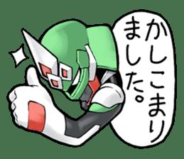 TAKASHIMA RIDER sticker #7354928