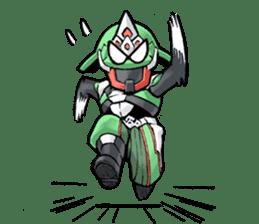 TAKASHIMA RIDER sticker #7354929