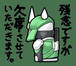 TAKASHIMA RIDER sticker #7354945