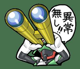 TAKASHIMA RIDER sticker #7354947